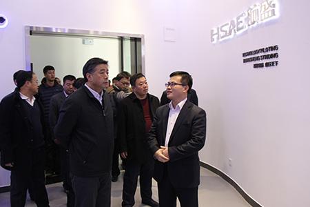 2015年1月,吉林市市长张焕秋到我公司视察指导工作